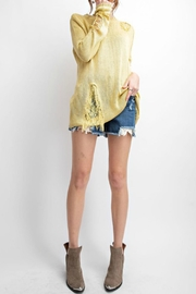 easel Distressed Sweater - Product Mini Image