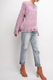 easel Distressed Super-Comfy Sweater - Product Mini Image