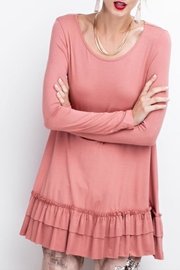 easel Double Ruffle Tunic - Product Mini Image