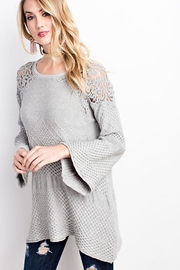 easel Drapey Asymmetrical Sweater - Other
