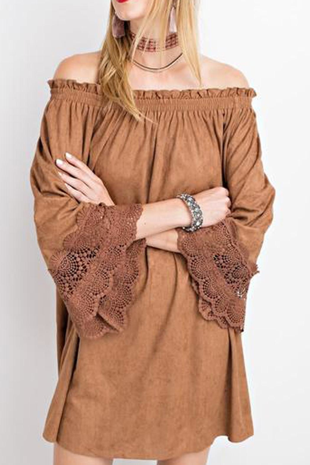 easel Esken Dress (Camel) - Main Image