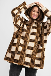 easel Faux Sheep Fur - Back cropped