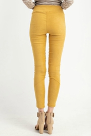 easel Faux-Suede Moto Legging - Other