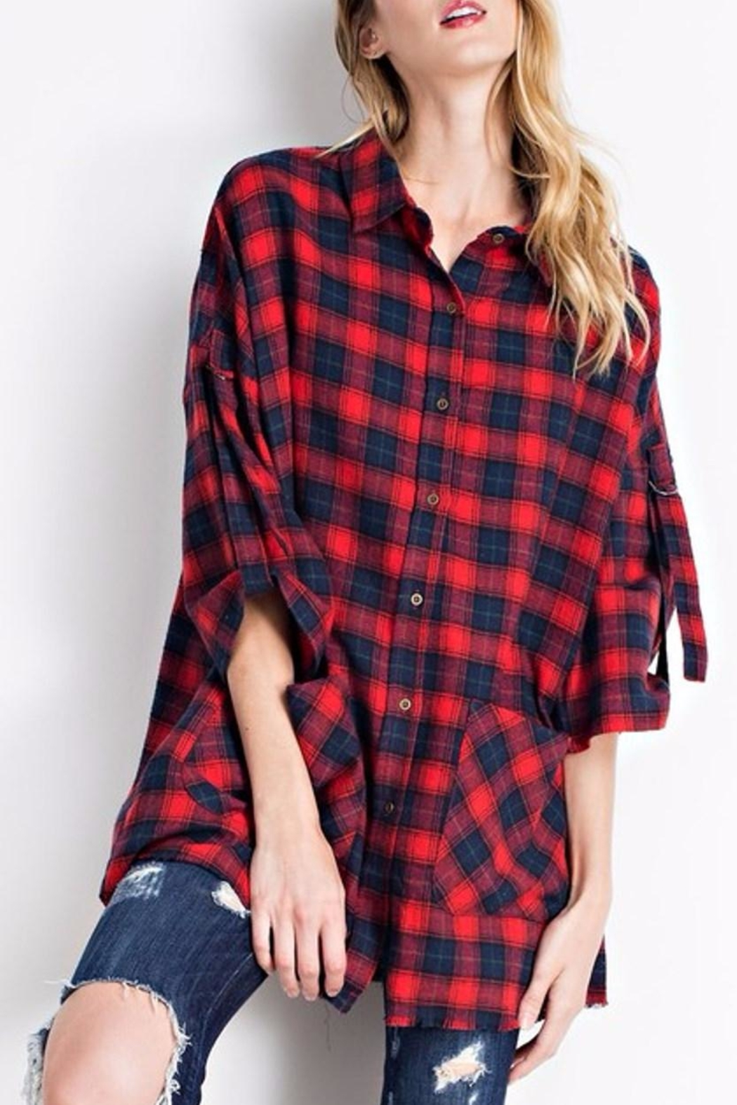 easel Flannel Button Down - Main Image