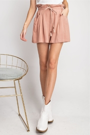 easel Flared For Spring-Shorts - Front full body