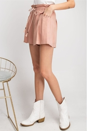 easel Flared For Spring-Shorts - Side cropped