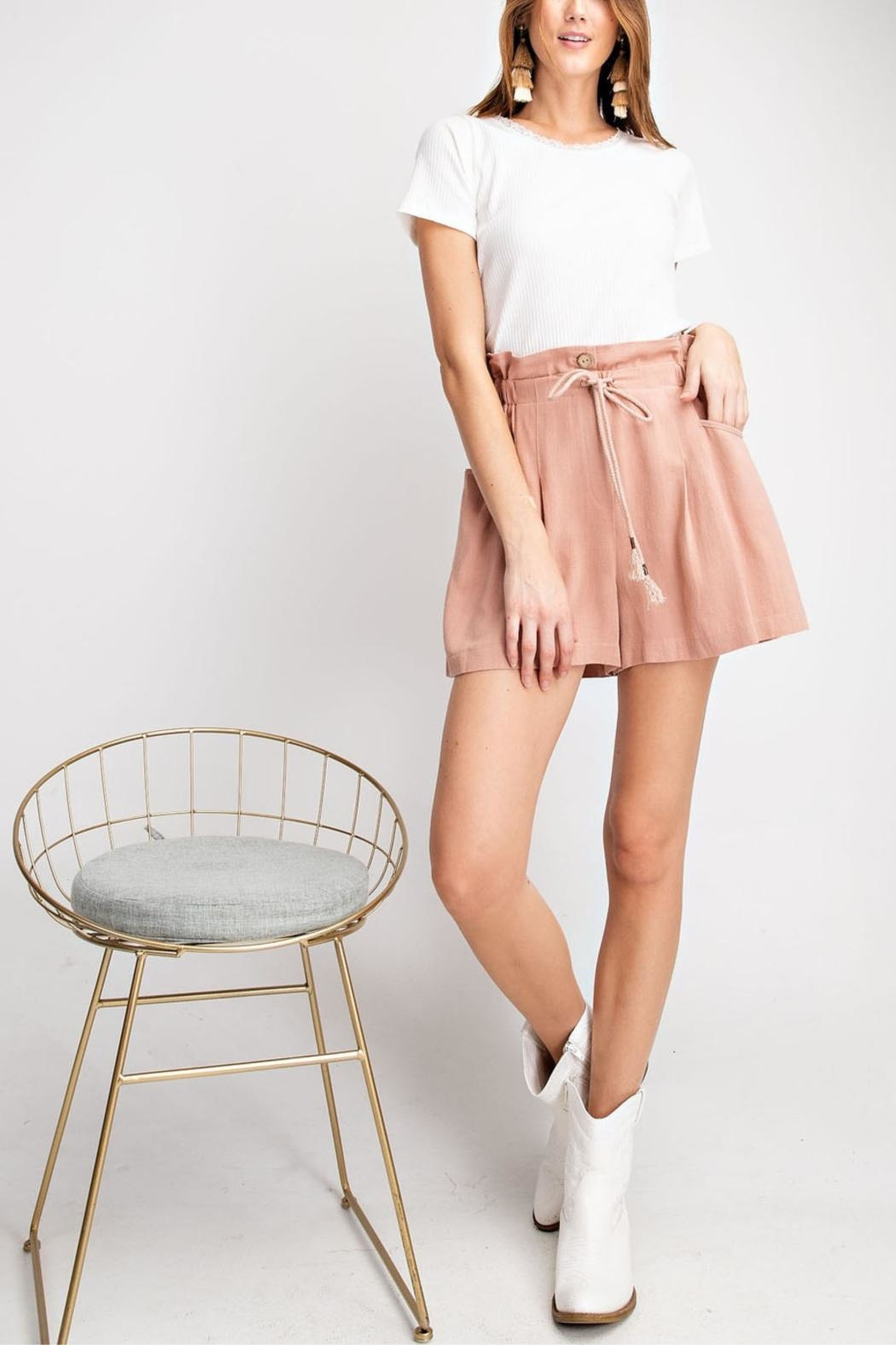 easel Flared For Spring-Shorts - Main Image