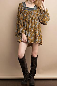 Shoptiques Product: Floral Mustard Dress
