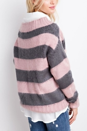 easel Fuzzy Crop Sweater - Side cropped