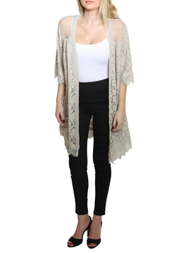Shoptiques Product: Half Sleeve Cardigan