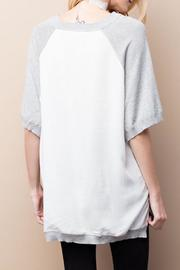 easel Half Sleeve Top - Front full body