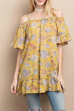 Shoptiques Product: Happy Floral Tunic