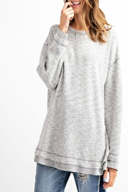 easel Hi-Low Tunic Top - Front cropped