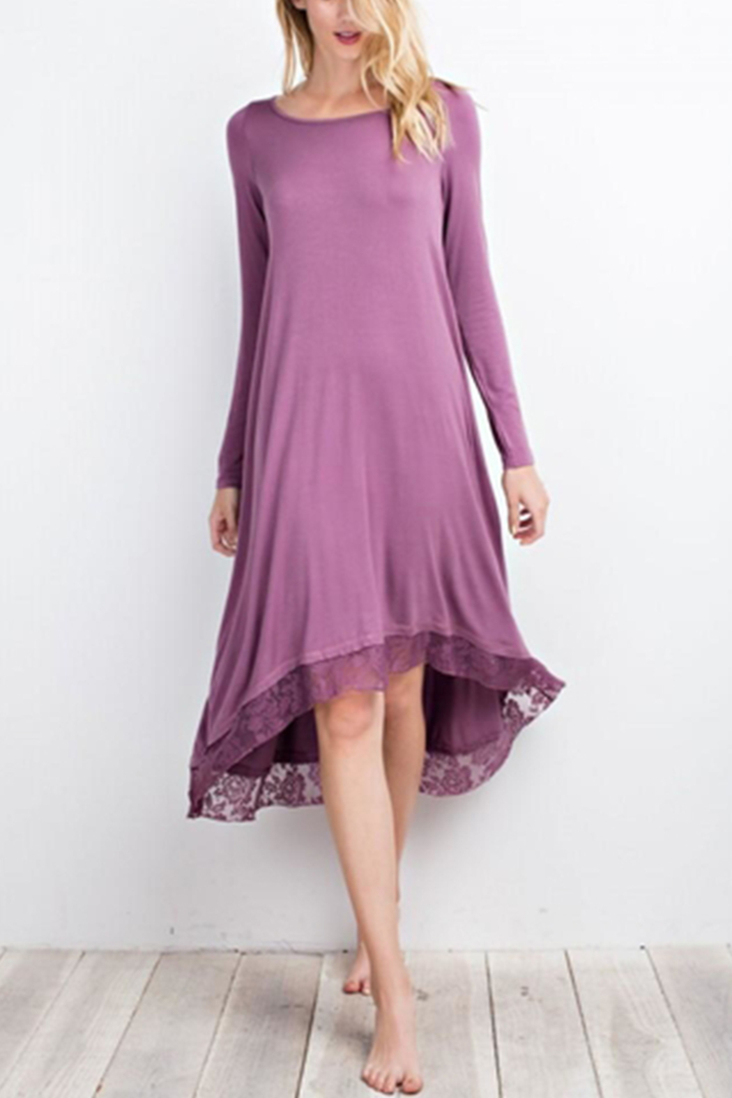 easel High Low Dress - Main Image