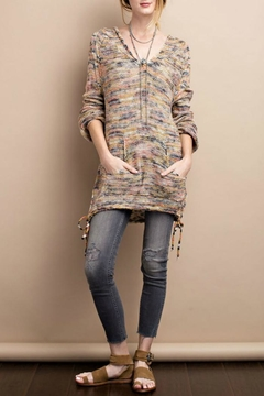 easel Hoodie Sweater Blush Grey - Product List Image
