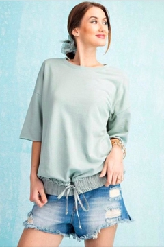easel Knit Boxy Top - Product List Image