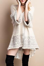 easel Knit Sweater Cardigan - Product Mini Image