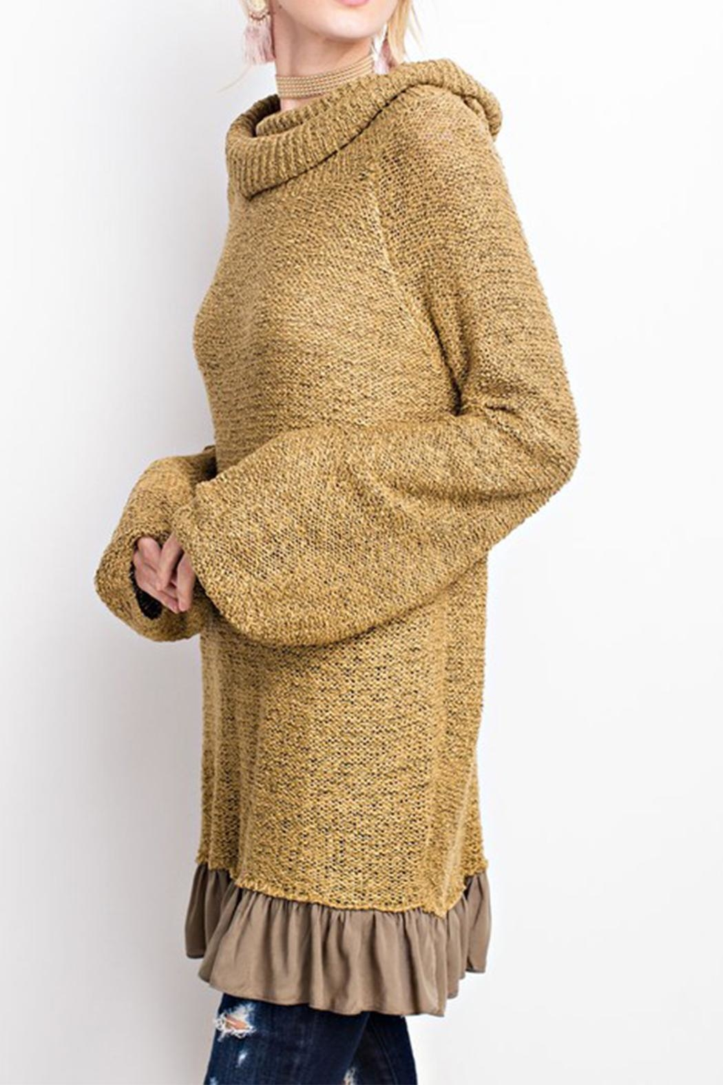 easel Knitted Sweater Tunic - Main Image