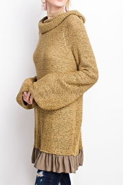 easel Knitted Sweater Tunic - Front cropped