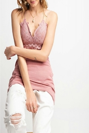easel Lace Bralette Tunic - Product Mini Image