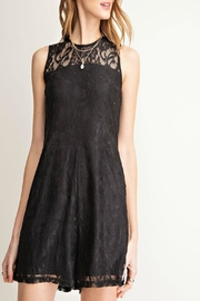easel Lace High-Neck Romper - Product Mini Image