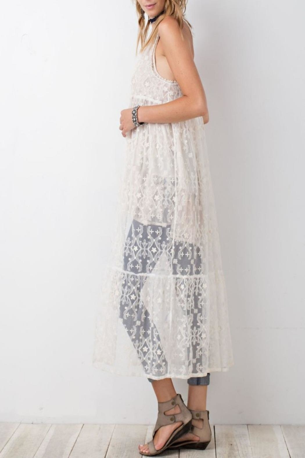 easel Lace Maxi Cardigan from Orlando by Blue Betty — Shoptiques