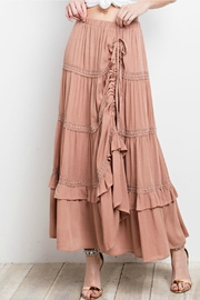 easel Lace-Trim Maxi Skirt - Other