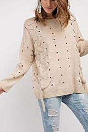 easel Laced Up Sweater - Product Mini Image