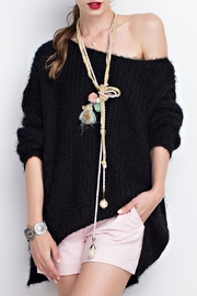 easel Loose Fit Sweater Tunic - Product Mini Image