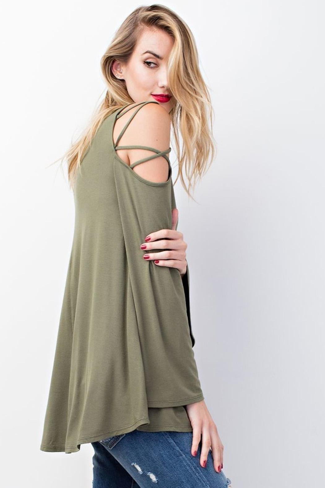 easel Lucea Top Olive - Main Image