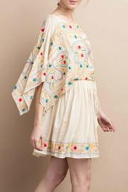 easel Maria Embroidered Dress - Other