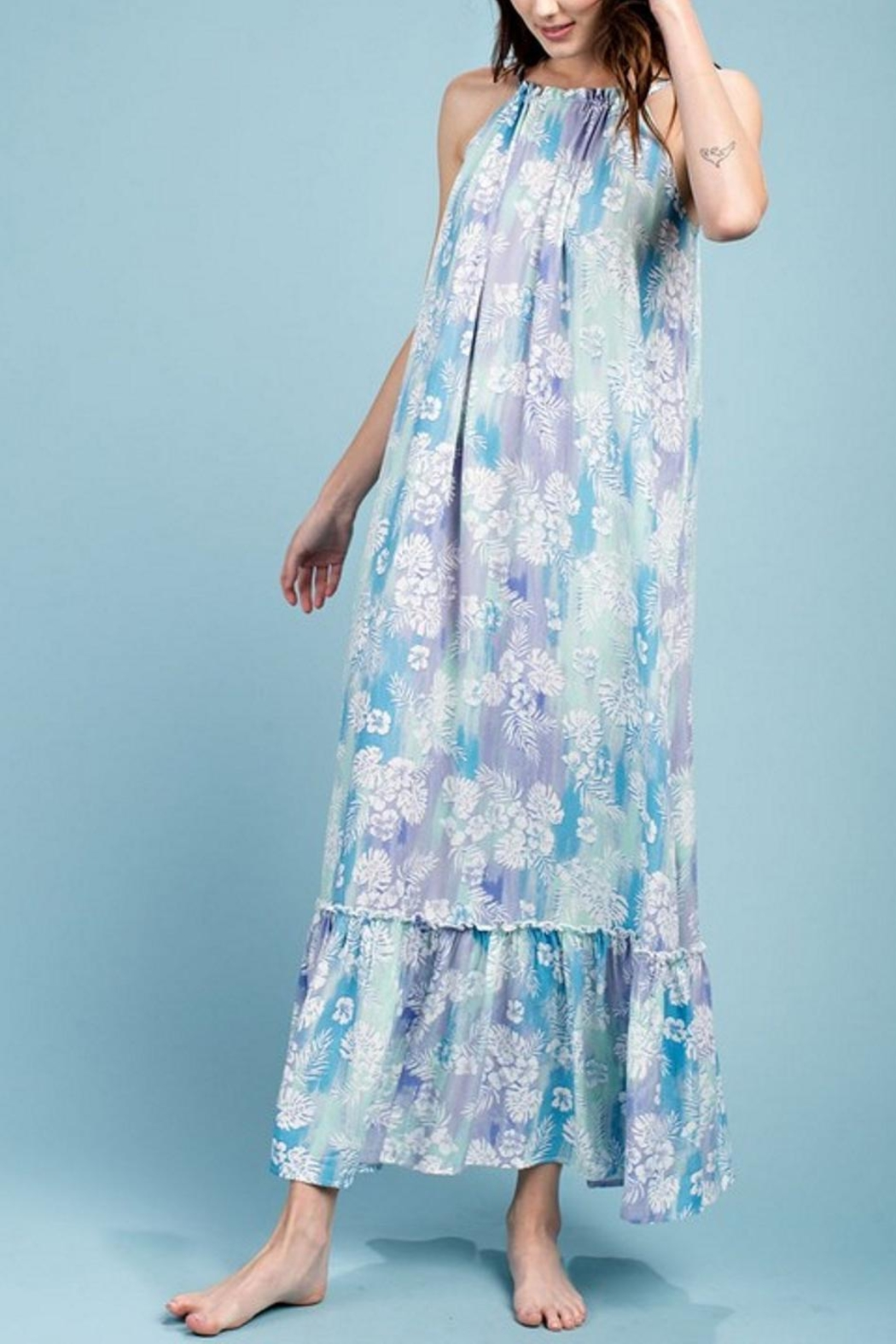 easel Maxi Dress - Front Cropped Image