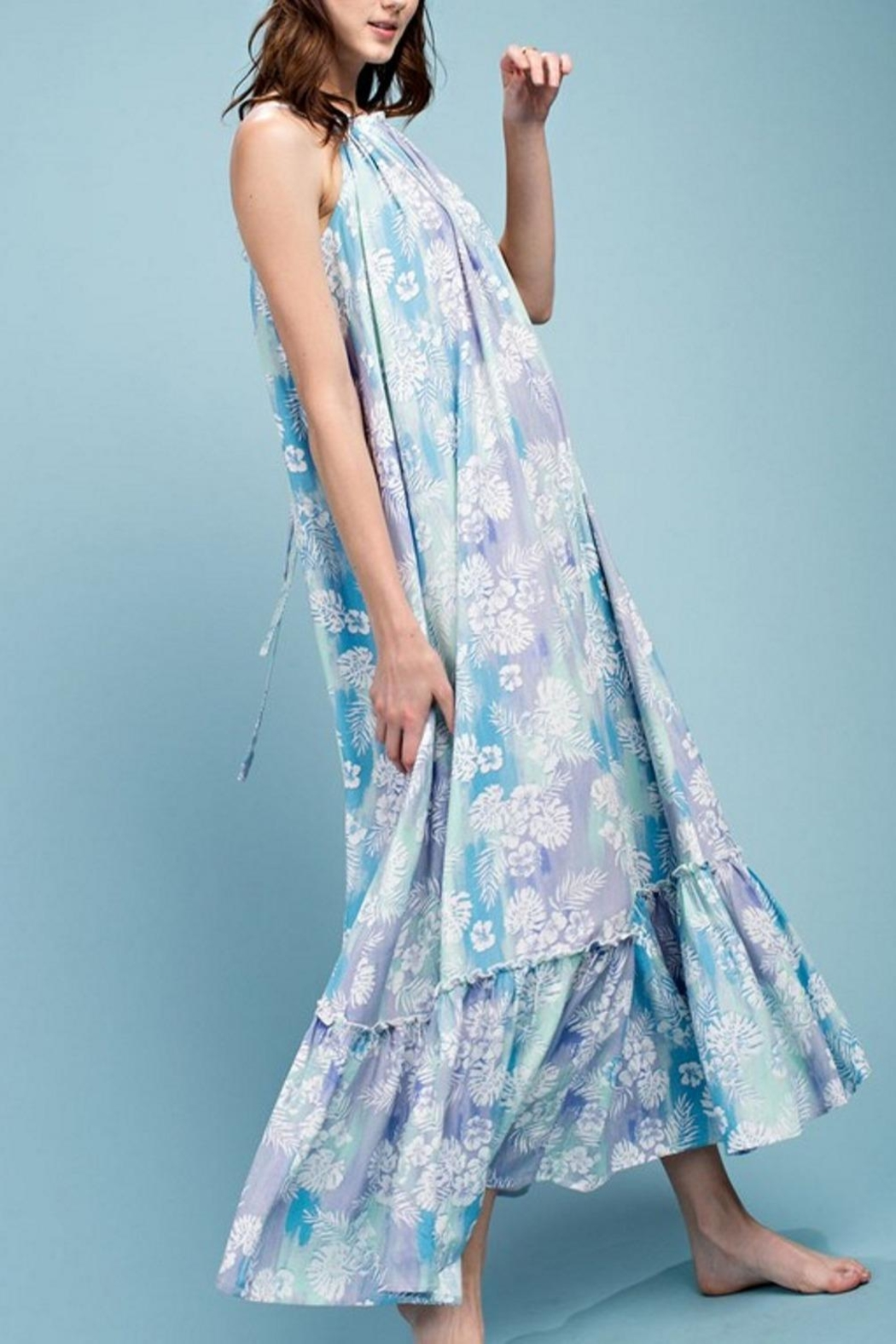 easel Maxi Dress - Front Full Image