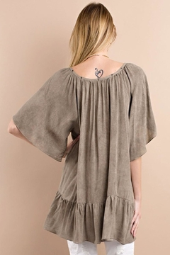 easel Mineral Wash Tunic - Alternate List Image