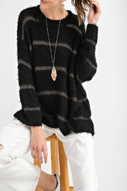 easel Mohair Striped Sweater - Product Mini Image