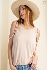 easel Natural Braided Tank - Product Mini Image