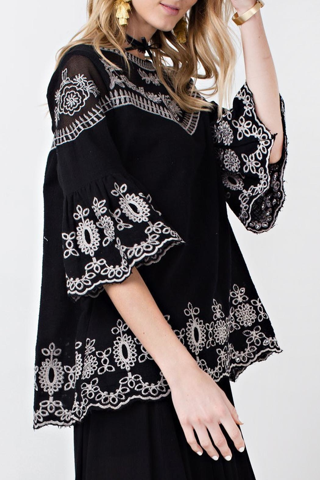 easel Night Out Tunic - Front Full Image