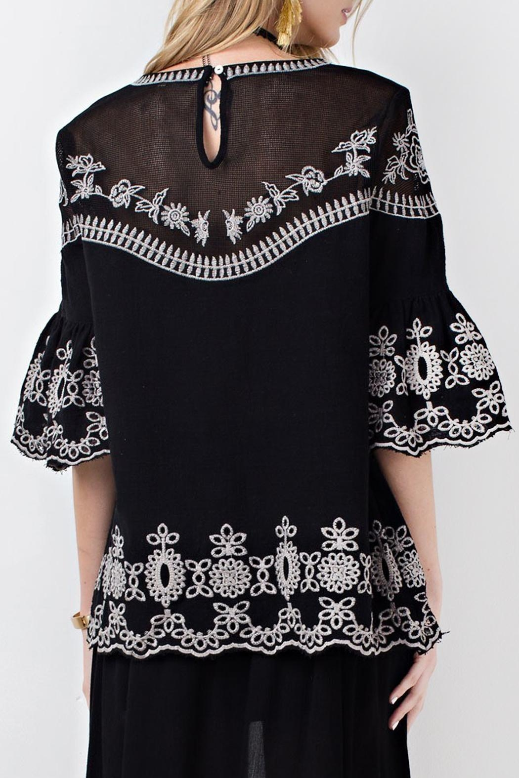 easel Night Out Tunic - Side Cropped Image