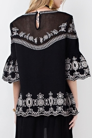 easel Night Out Tunic - Side cropped