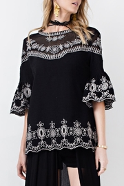 easel Night Out Tunic - Front cropped