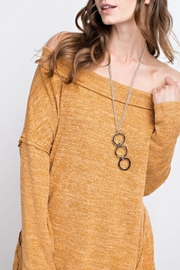 easel Off-Shoulder Soft Tunic - Product Mini Image