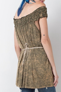 easel Green Tunic Top - Alternate List Image