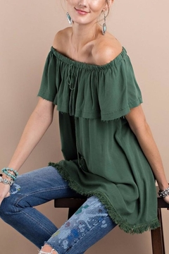 easel Off Shoulder Tunic - Product List Image