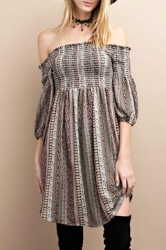 Shoptiques Product: Olive Boho Dress