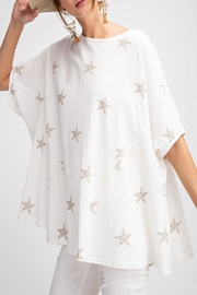 easel Oversized Stars Top - Product Mini Image