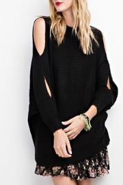 easel Oversized Sweetie Sweater - Front cropped