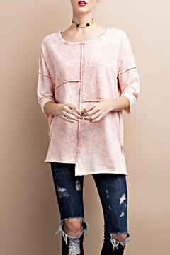 Shoptiques Product: Patched Oversize Top