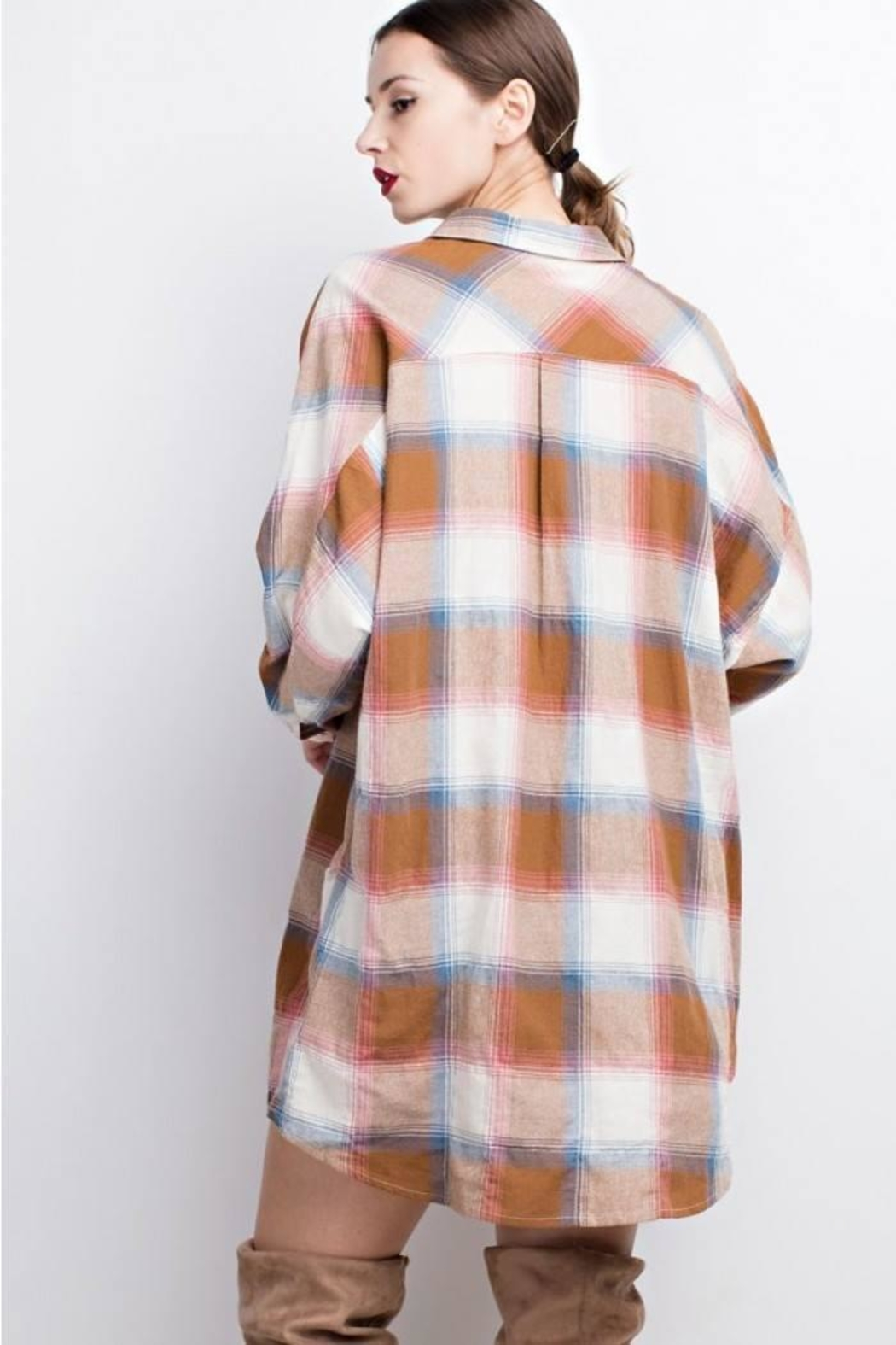 easel Plaid Long Sleeve - Main Image