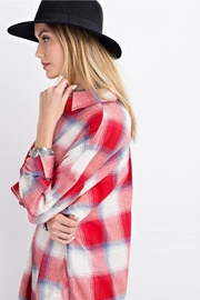 easel Plaid Long Sleeve - Front full body