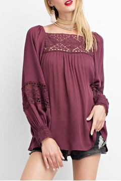 Shoptiques Product: Plum Top
